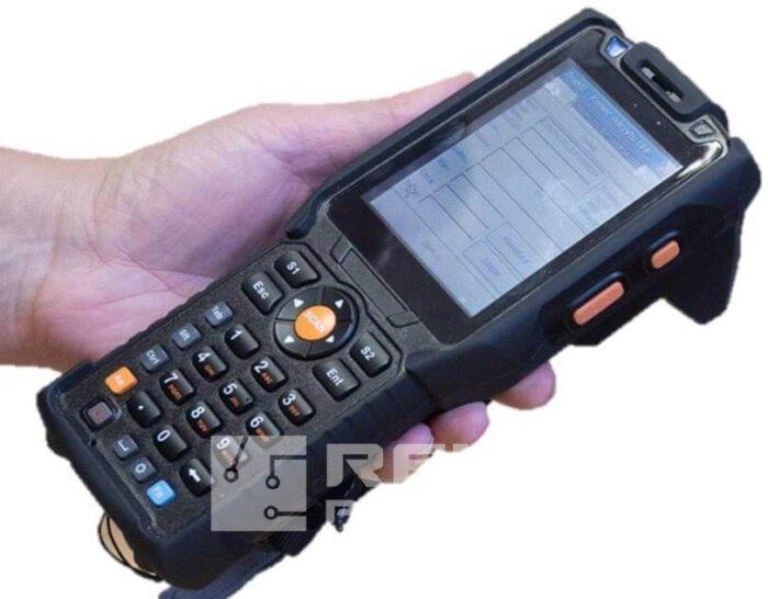 śledzenie produkcji za pomocą czytnika RFID mobilnego