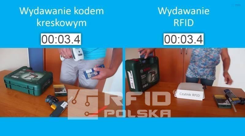 Barcode VS RFID UHF