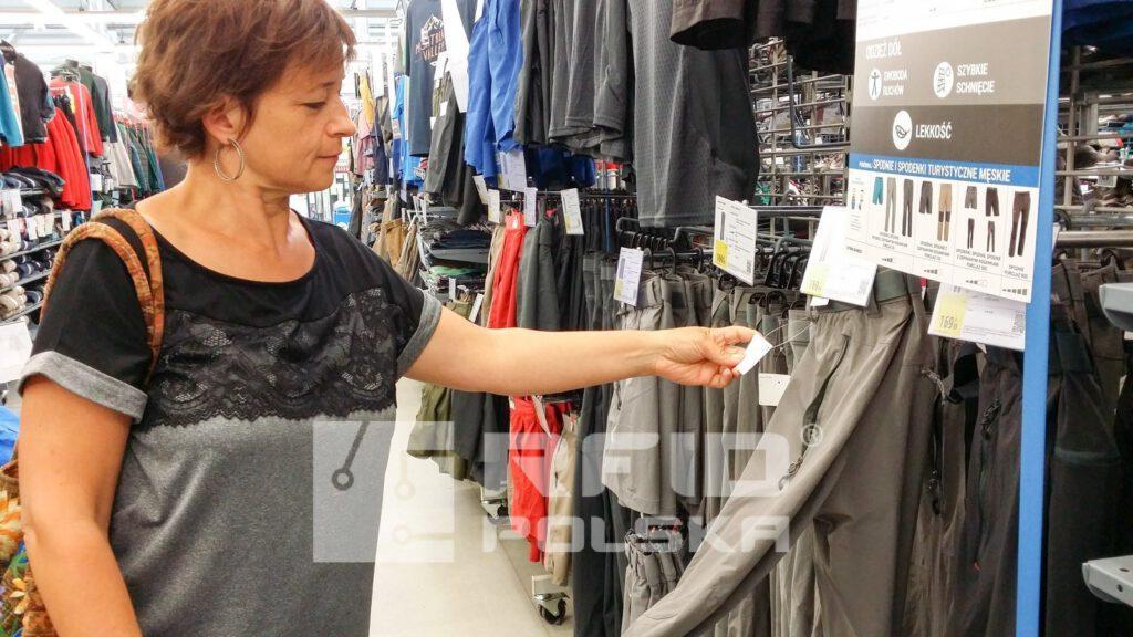Zastosowanie RFID w handlu sklep Decathlon
