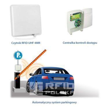 Autonomiczny system parkingowy oparty o RFID UHF