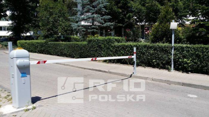 automatyczny system parkingowy osiedlowy sterowanie szlabanem RFID