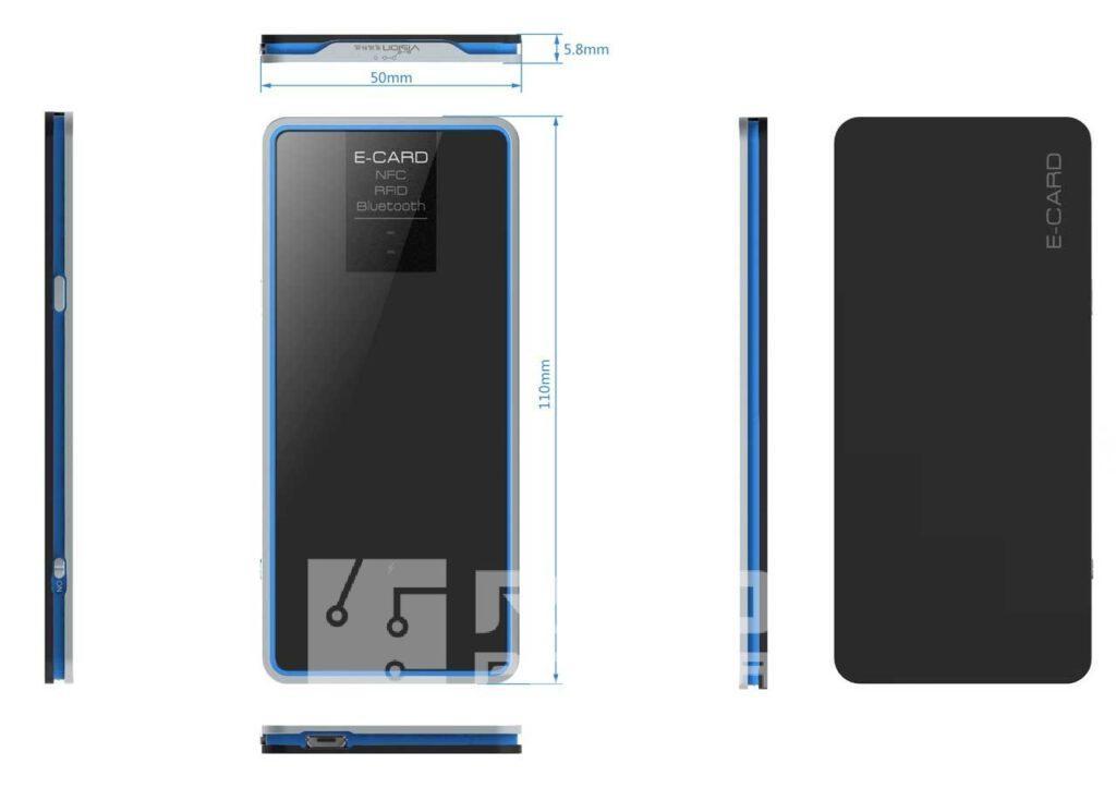 mobilny czytnik RFID UHF BT Bluetooth i USB