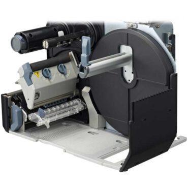 Wnętrze urządzenia do druku etykiet RFID i znakowania majątku