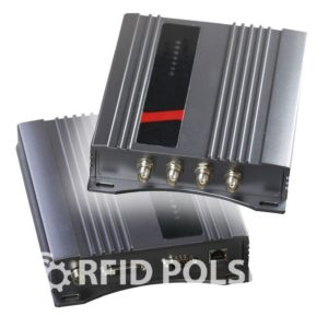 Czytnik RFID UHF 4 kanały LAN
