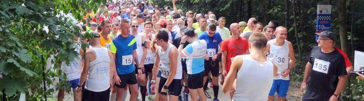 Elektroniczny pomiar czasu na zawodach biegowych w Oławie