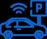 ikona automatyczne systemy parkingowe RFID