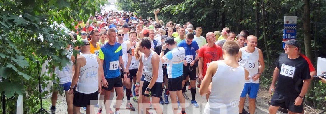 Elektroniczny pomiar czasu RFID na zawodach biegowych w Oławie