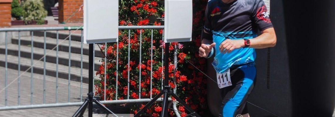Pomiar czasu na zawodach - na mecie RFID zawody Wisła