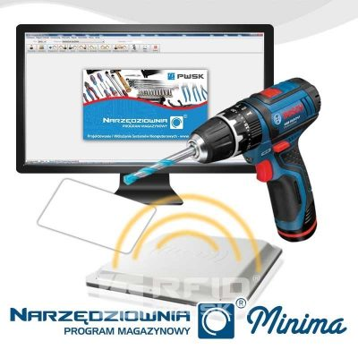 Narzędziownia Minima program do ewidencji majątku przy pomocy technologii RFID