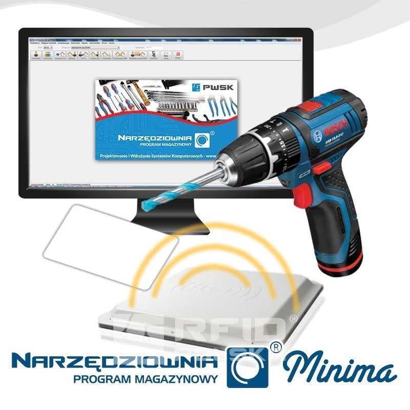 Narzędziownia Minima RFID - System do ewidencji sprzętu