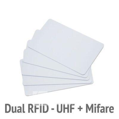 Karta zbliżeniowa dualna RFID UHF Mifare