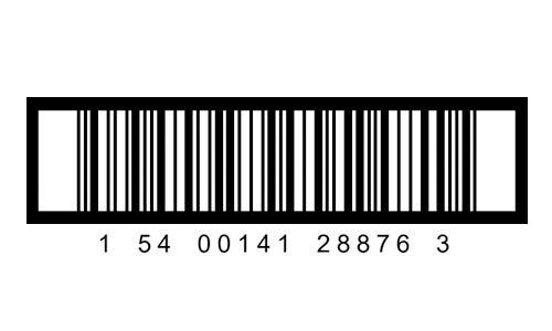 Przykładowy kod kreskowy ITF-14