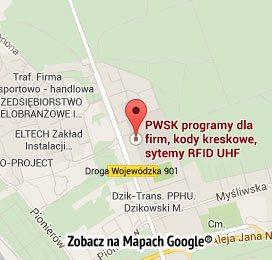Jak dotrzeć do firmy PWSK z Gliwic