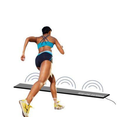 Maty RFID UHF dla pomiaru czasu na zawodach sportowych