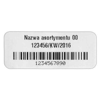 Etykieta RFID Smartrac MiniWeb do zadruku