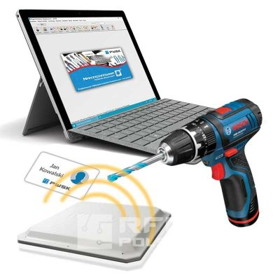 Program do ewidencji sprzętu przy pomocy technologii RFID UHF