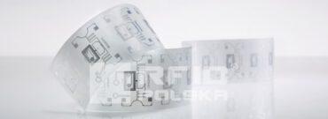 Dwusystemowa etykieta z chipem RFID Mifare