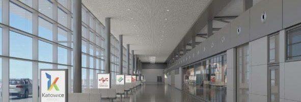 System kontroli bagażu na Międzynarodowym Lotnisku w Katowicach Pyrzowicach