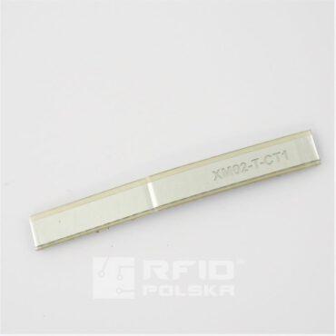 Tag RFID na metal Xerafy Titanium Metal Skin